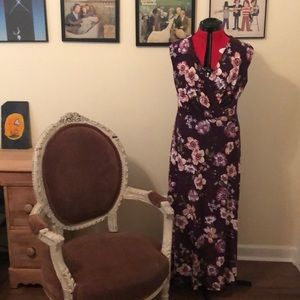 Long floral dress from Stitch Fix